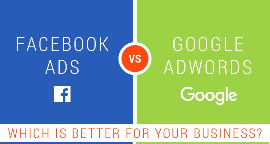 Which Service Should you Use Facebook Ads vs. Google AdWords